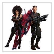 Хардпостер (на твёрдой основе) Deadpool